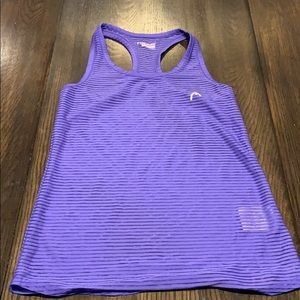 Mesh Striped Workout Tank